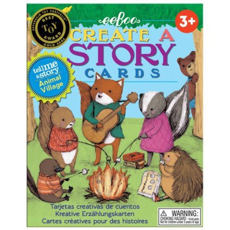 eeBoo eeboo | Create a Story, Animal Village