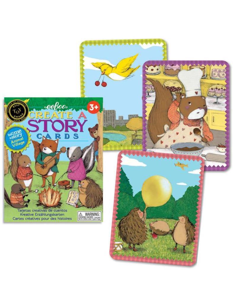 eeBoo eeboo   Tell Me a Story, Animal Village
