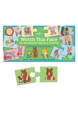 eeBoo eeboo | Watch This Face Puzzle Pairs