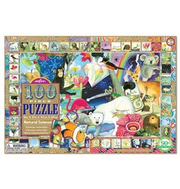eeBoo eeboo | Natural Science 100 Piece Puzzle