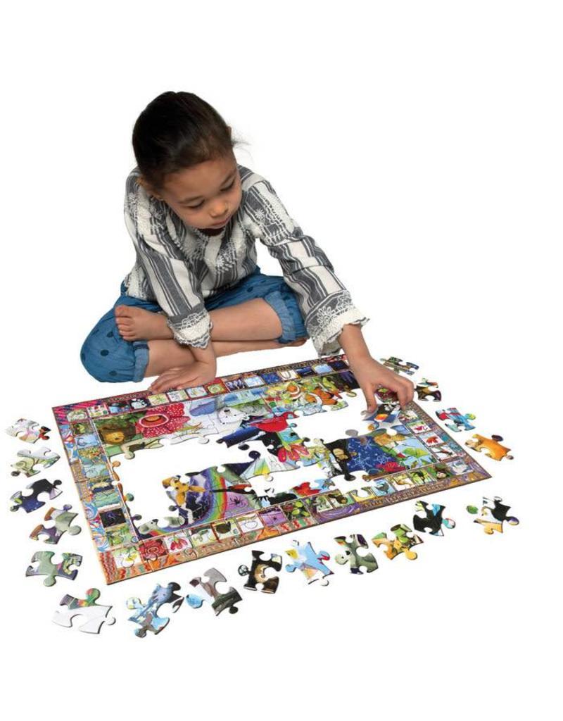 eeBoo eeboo |Natural Science 100 Piece Puzzle