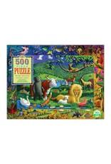 eeBoo eeboo | Peaceable Kingdom 500 Piece Puzzle