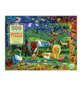 eeBoo eeboo | Peaceable Kingdom 500 Piece Puzzle
