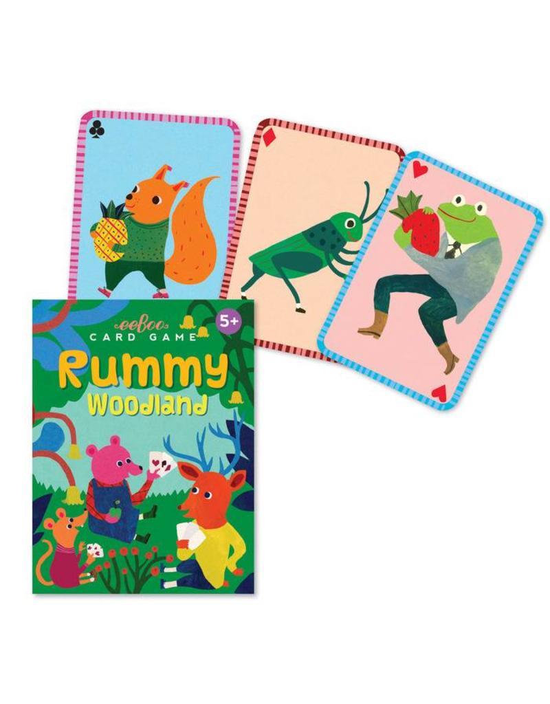 eeBoo Playing Card Set | Woodland Rummy