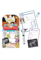 eeBoo Veterinarian Pretend Play Set