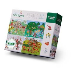 Crocodile Creek | 24 Pc Four Seasons Puzzle