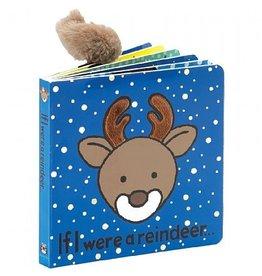 JellyCat If I Were A Reindeer Board Book