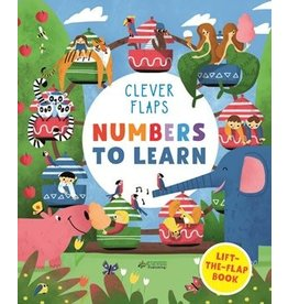 Quarto Numbers to Learn Lift the Flap Book