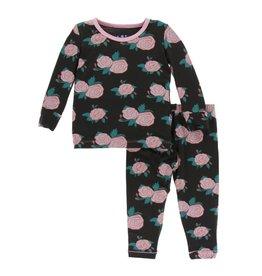 Kickee Pants Kickee Pants| English Rose Garden Pajama Set