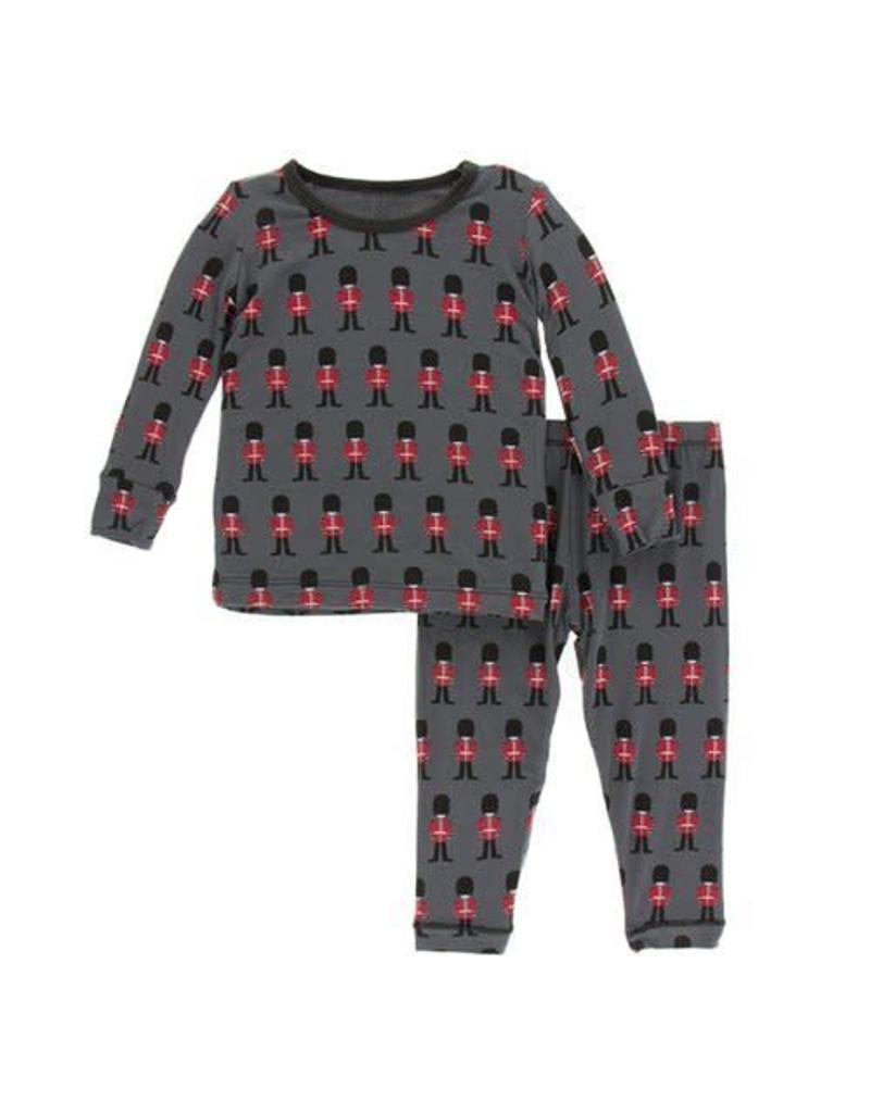 Kickee Pants Kickee Pants| Queen's Guard Pajama Set