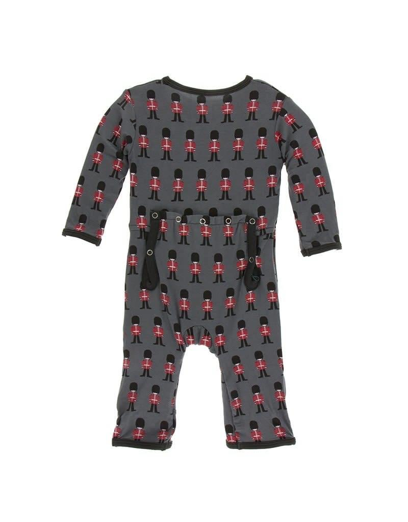 Kickee Pants Kickee Pants| Queen's Guard Coverall