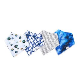 Copper Pearl Copper Pearl | 4-Pack Bandana Bib Set Galaxy