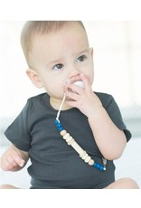 Bella Tunno Bella Tunno Pacifier Clip | Noah Navy