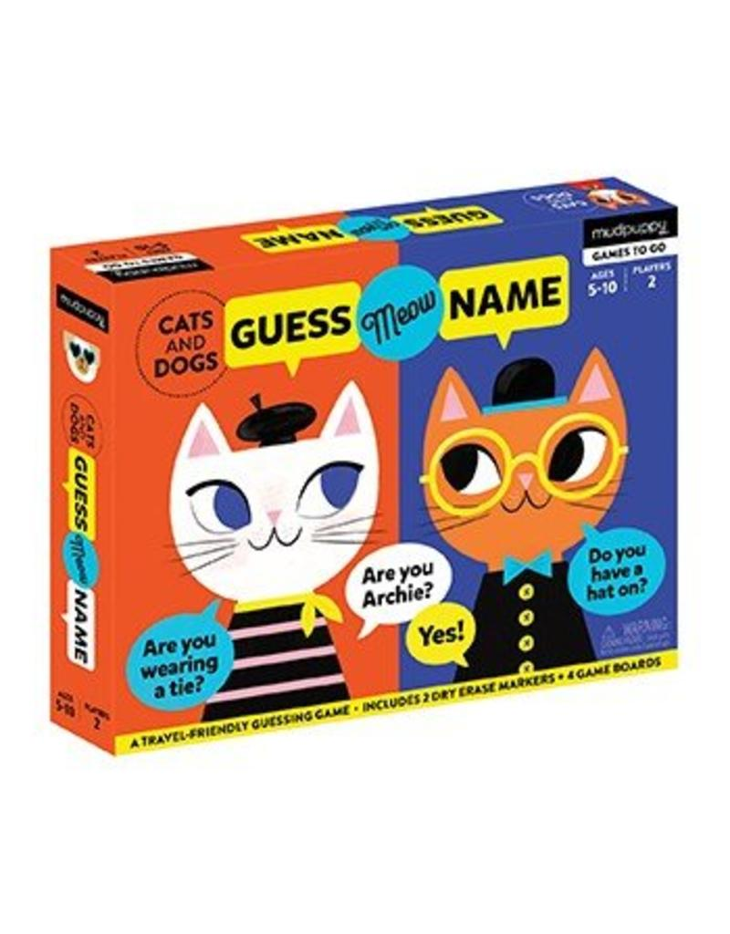 Guess My Name Game | Cats & Dogs
