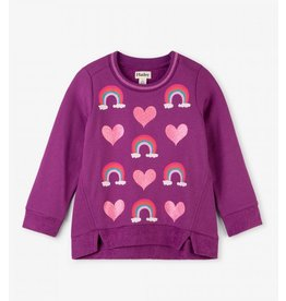 Hatley Hatley | Hearts & Rainbows Pullover