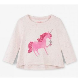 Hatley Hatley | Curious Unicorn Long Sleeve Tee