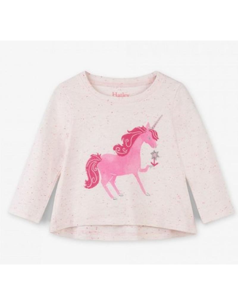 Hatley Hatley | Curious Unicorn Long Sleeve Tee