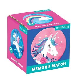 Mudpuppy | Unicorn Magic Memory Match