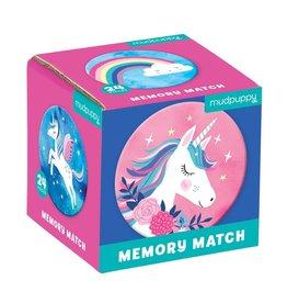 Mudpuppy | Unicorn Magic Memory Match