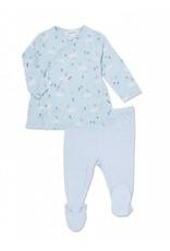 Angel Dear Angel Dear | Blue Bunnies Kimono Top Set