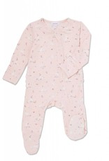 Angel Dear Angel Dear | Pink Bunnies Zipper Footie