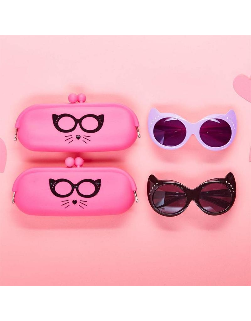 Cat Eye Sunglasses & Case