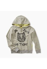 Tea Collection Tea Collection | Le Tiger Zip Hoodie