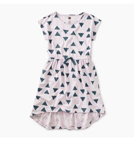 Tea Collection Tea Collection | Ikat Triangles Hi-Lo Dress
