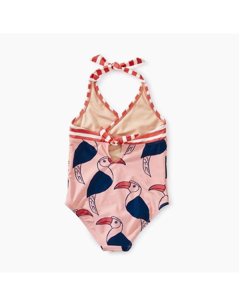 Tea Collection Tea Collection  Hornbill Halter Swimsuit