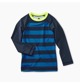 Tea Collection Tea Collection | Riptide Stripe Rash Guard