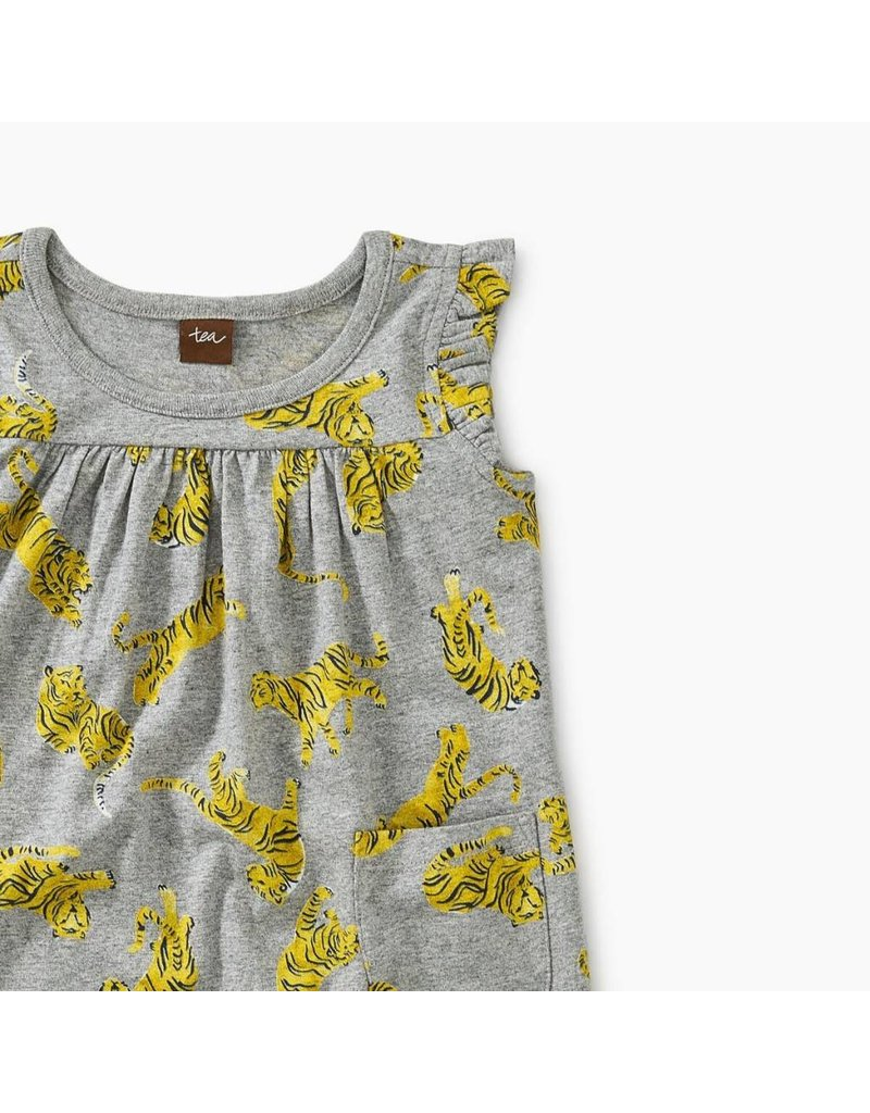 Tea Collection Tea Collection| Tossed Tigers Baby Dress