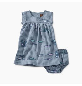 Tea Collection Tea Collection| Ikat Stripe Baby Dress