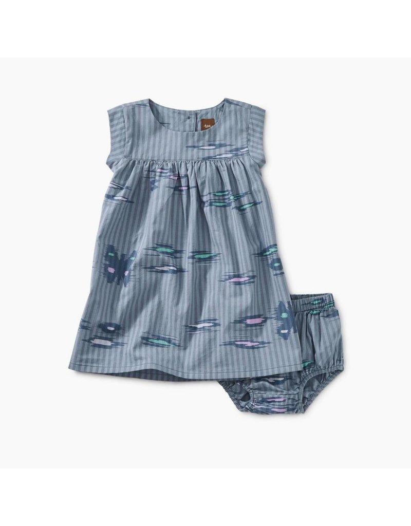Tea Collection Tea Collection| Ikat Stripe Baby Dress