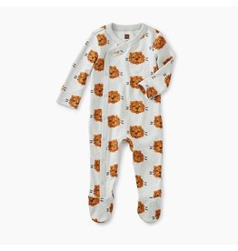 Tea Collection Tea Collection| Cuddly Cubs Footed Romper