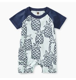 Tea Collection Tea Collection | Peck of Pineapples Cargo Romper