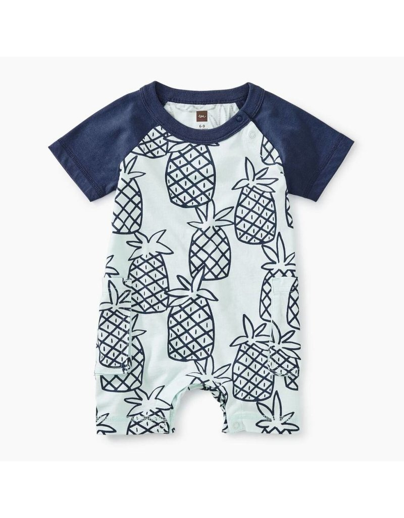 Tea Collection Tea Collection| Peck of Pineapples Cargo Romper