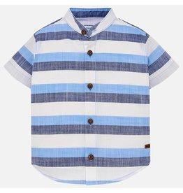 Mayoral Mayoral | Banded Collar Baby Shirt