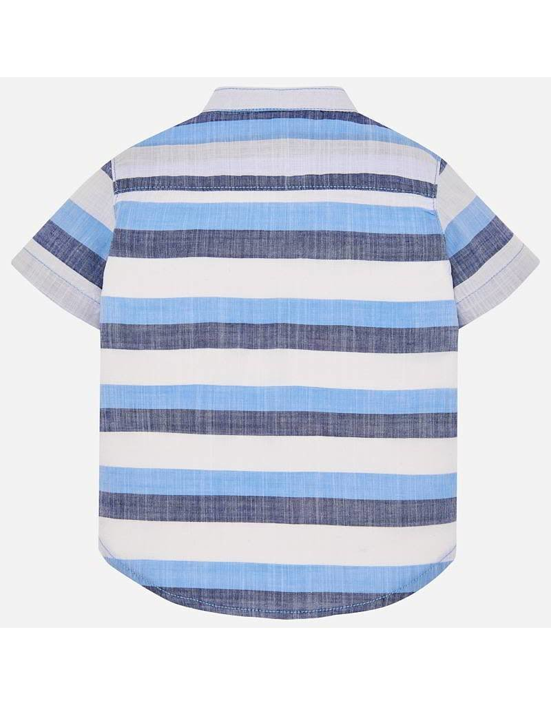 Mayoral Mayoral   Banded Collar Baby Shirt