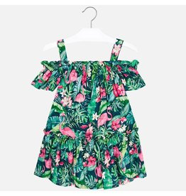 Mayoral Mayoral | Flamingo Floral Dress