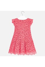 Mayoral Mayoral | Lace Overlay Dress