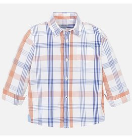Mayoral Mayoral | Plaid Button Down Shirt