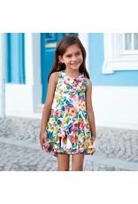 Mayoral Mayoral | Tropical Chiffon Dress