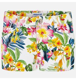 Mayoral Mayoral | Tropical Twill Shorts