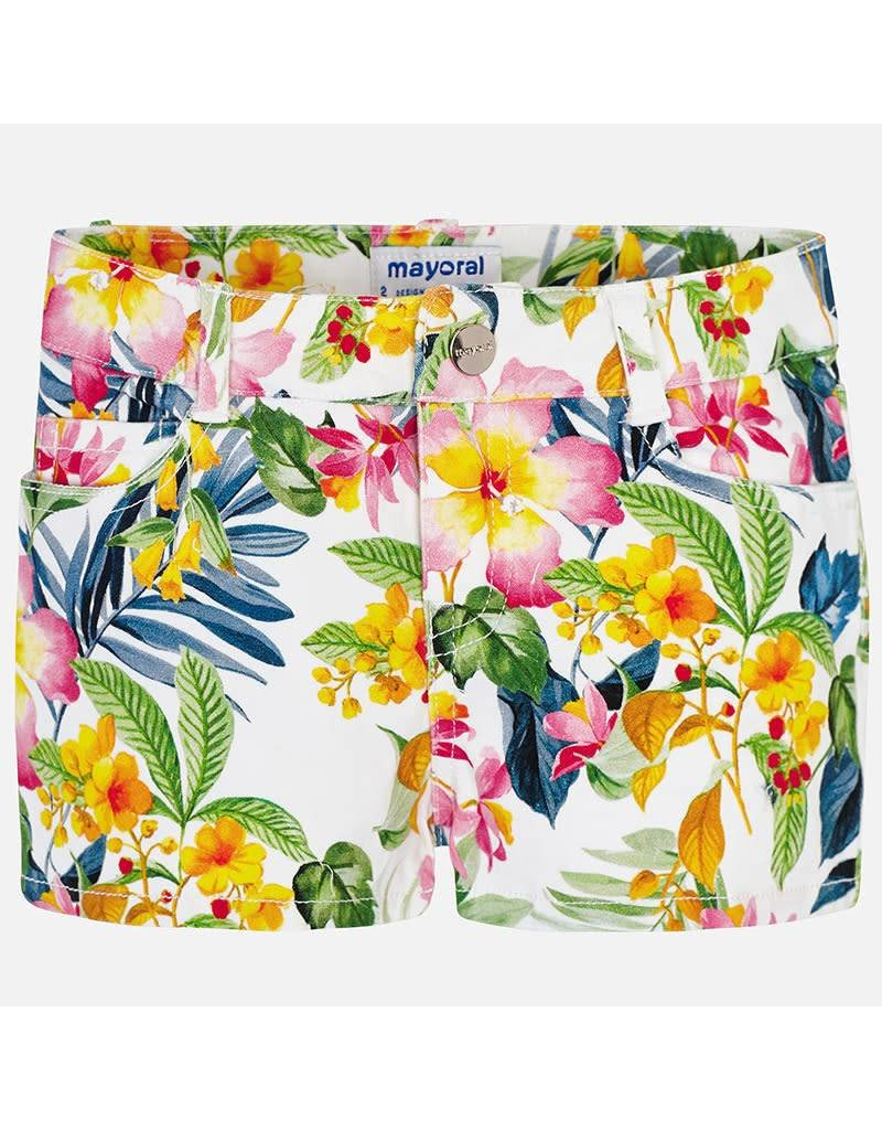 Mayoral Mayoral   Tropical Twill Shorts