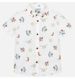 Mayoral Mayoral   Western Button Down Shirt