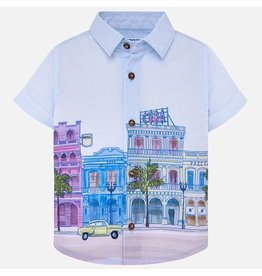 Mayoral Mayoral | Cityscape Baby Shirt
