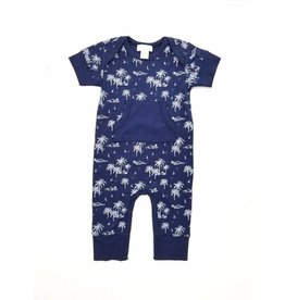 Feather Baby | Vintage Hawaii Kangaroo Romper