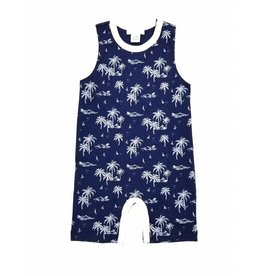 Feather Baby | Vintage Hawaii Tank Romper