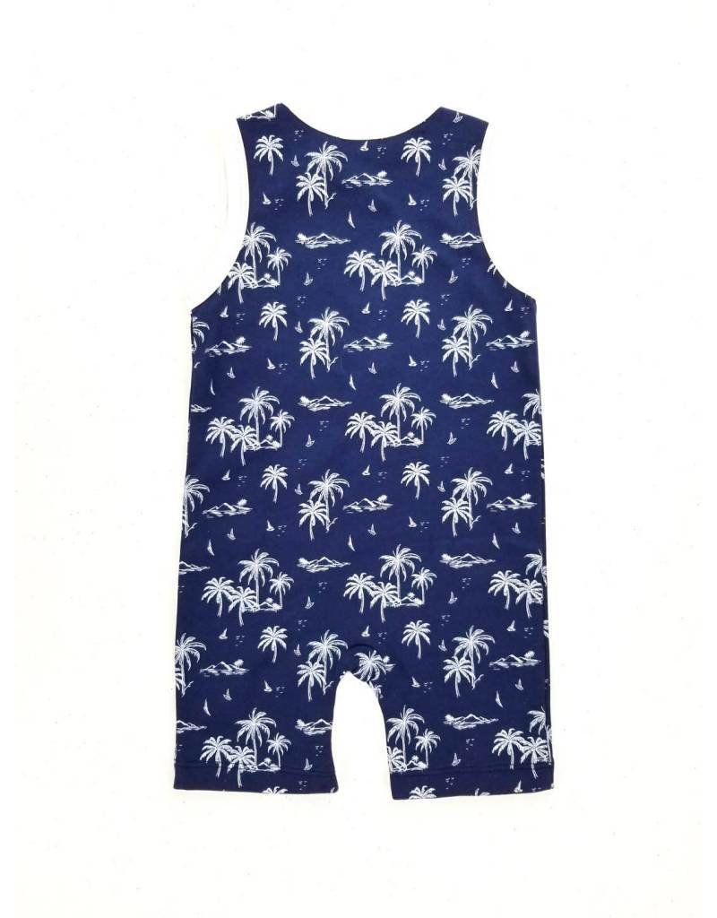 Feather Baby |Vintage Hawaii Tank Romper
