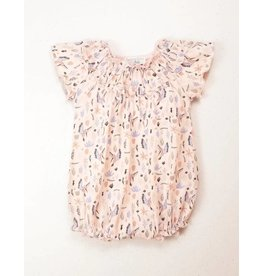 Feather Baby | Winged Bird Flutter Sleeve Romper